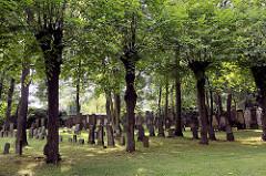Jüdischer Friedhof in Hamburg Stellingen  / Langenfelde, Försterweg; angelegt 1887.