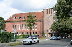 Wichernkirche in Hamburg Hamm - erbaut 1954, Architekt W. Manshardt.