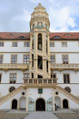 Grosser Wendelstein beim Schloss Hartenfels in Torgau, errichtet  1533-1537.