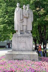 Denkmal zum Lettischen Unabhängigkeitskrieg 1905; Ventspils / Windau.