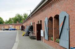 Magazin / Kasematten der Bastion / Festung Torgau - Flankenkasematten, Nutzung jetzt u. a. als Kulturzentrum.