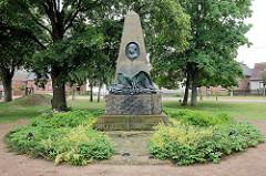 Yorck-Denkmal in Wartenburg, eingeweiht 1913,