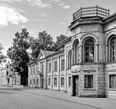 Historische Architektur in Ventspils / Windau, Lettland