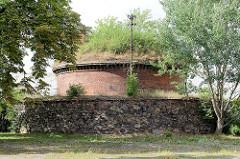 Südliche Kaponniere der Festung Torgau; Verteidigungsanlage.