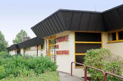 Sporthalle am Wasserturm / Torgau; Mulitfunktionshalle, eingeweiht 1993 - Dahlener Straße.