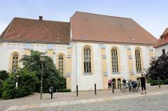 Alltagskirche in Torgau - 1243, gotische Hallenkirche; ehem. Franziskanerkloster - Profanierung 1811 -  heute Schulaula.