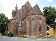 Ev. Stadtkirche St. Marien in Dommitzsch / Nordsachsen.