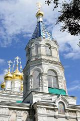 Saint Nicholas - Orthodoxe Kirche in Ventspils / Windau, Lettland.