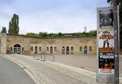 Rechte Flankenkasematten der Bastion VII der Festung Torgau.