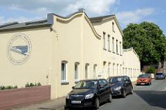 Ehem. Maschinenfabrik im Neuland Weg - jetzt Sitz der Reso-Fabrik, gemeinnütziger Verein.