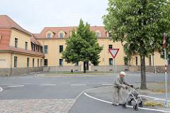 Gebäude vom Amtsgericht Torgau, Rosa Luxemburg Platz.