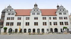 Rathaus von Torgau - 1563 bis 1578 im Stil der Renaissance erbaut.