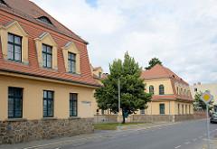 Gebäude vom Amtsgericht Torgau - Rosa Luxemburg Platz.