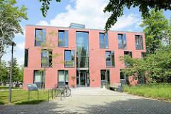 Neubau am Schlossplatz von Winsen / Luhe; Gebäude vom Amtsgericht.