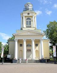 St. Nikolauskirche in Ventspils / Windau, Lettland.