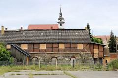 Ehemaliger Kalkofen in Torgau - historische Industriearchitektur, technisches Denkmal.