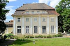 Ehemaliges Kurhaus / Moorbad - jetzt Parkhotel in Pretzsch / Elbe.
