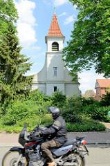 Kapelle St. Georg in Winsen / Luhe; erbaut 1750, umgebaut 1903 - jetzt Nutzung als Mehrzweck-Veranstaltungsraum.