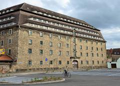 Ehem. Militär-Proviant-Magazin in Torgau, erbaut 1728 - jetzt (geplante) Nutzung als Markthalle.