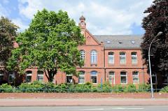 Gebäude der Alten Stadtschule in Winsen / Luhe; Grundschule und offene Ganztagsschule.