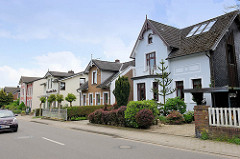 Einzelhäuser / Stadtvilla im Baustil der Gründerzeit - Architektur in Meckelfeld, Seevetal.