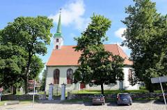 Lutherische Johanniskirche in Limbaži / Lemsal; Ursprungsgebäude erbaut 1681 - Stadtbaumeister Rupert Bindenschuh.
