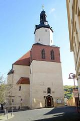 St. Georg-Kirche von Mansfeld, erbaut ab 1397 - Luther war dort Ministrant.