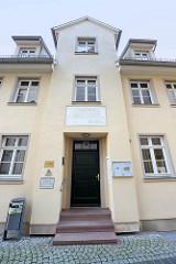 Ehem. Schulgebäude von Martin Luther in Mansfeld.