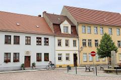 Altstädter Markt in Mühlberg / Elbe
