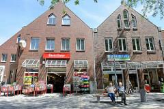 Fussgängerzone Bergedorfer Straße - Einkaufsstraße in Geesthacht.