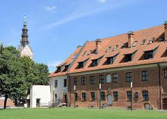 Rekonstruiertes Burggebäude in Elbląg / Elbing; Archäologisches Museum