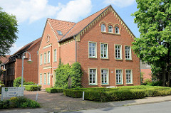 Gebäude vom Standesamt in Hittfeld / Seevetal.
