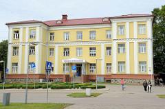 Historisches Gebäude, Bastion; Gesundheitszentrum - Kantine / Kafejnica in Valmiera.