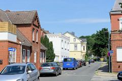 Einzelhäuser - Wohnhäuser in der Marktstraße / Geesthacht.