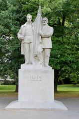 Denkmal zum lettischen Unabhängigkeitskrieg 1905 in Kuldīga.