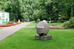 Stadtpark von Limbaži / Lemsal  - Kunst im öffentlichen Raum.
