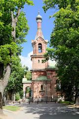 Russisch-Orthodoxe Kirche in Kuldiga, Lettland.