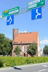 Spitalkirche zum Heiligen Leichnahm, Kirche in Elbląg / Elbing.