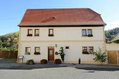 Spangenberghaus in Mansfeld - Wohnhaus in der Zeit von 1553-1574 des Cyriacus Spangenberg - evangelischer Theologe, Kirchenlieddichter und Historiker.