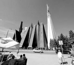 Kirche der Mutter Gottes, der Königin  von Polen, erbaut 1975 - Bilder aus Elbląg / Elbing.