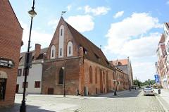 Gotisches Heilig Geist Hospital in Elbląg / Elbing - jetzt Nutzung als Bibliothek.