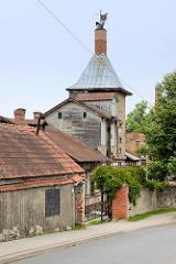 Historische Industriearchitektur in Cēsis - Lagergebäude / Speicher.