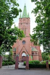 Sankt Annen Kirche in Kuldīga / Lettland - erbaut 1904 - Architekt Wilhelm Neumann.