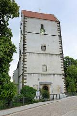 Evangelische Stadtkirche Sankt Bartholomäus in Belgern - geweiht 1512.