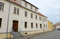 Ehem. Bürgerschule von Schildau, eingeweiht 1858 - jetzt Grundschule.