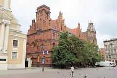 Altstädtisches Rathaus von Toruń - Backsteingotik des 13. Jahrhunderts, Umbau im 18. Jhd. / 19. Jhd.