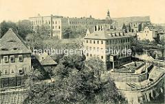 Historische Aufnahme von Meißen - Königl. Fürsten- und Landesschule St. Afra.