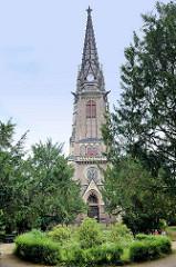 Johanneskirche in Meißen, geweiht 1898 - Kirchenbaumeister Theodor Quentin.