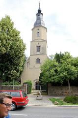 St. Urbanskirche in Cölln-Meißen; 1701 im Baustil des Barocks eingeweiht.