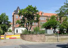 Gebäude der Freien Werkschule Meißen - Grundschule, Mittelschule + Berufliches Gymnasium. Ehem. Krankenhaus, erbaut 1892 - Nutzung bis 1998.